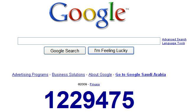 عداد جوجل