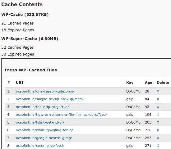 wp super cache list إضافات ووردبريس رائعة ومهمة