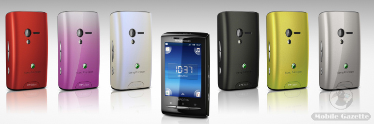 sony ericsson xperia x10 mini combo أول هاتف بنظام اندرويد من سوني اريكسون Xperia X10