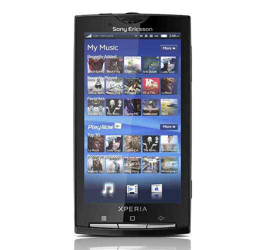 sony ericsson xperia x10 أول هاتف بنظام اندرويد من سوني اريكسون Xperia X10