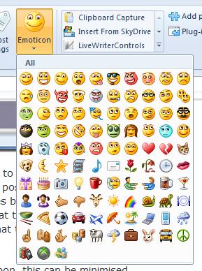 ���� ����� ������� Windows Live Writer 2011
