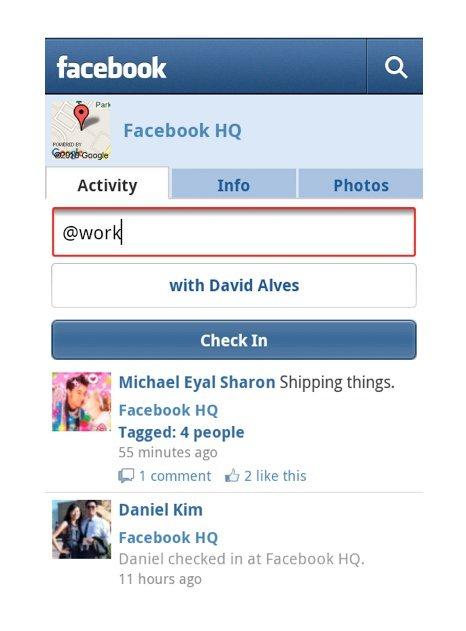 نسخة جديدة لتطبيق الفيس بوك للاندرويد والايفون وإضافة ميزة تسجيل