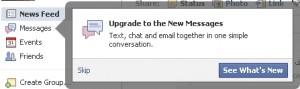 Facebook email 1 300x89 تحديث: ظهور البريد الالكتروني الخاص بالفيس بوك