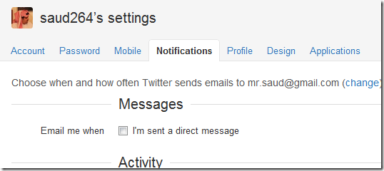 twitter-emails
