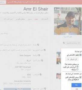 ملفي الشخصي2 273x300 25 طريقة لأحتراف موقع جوجل بلس