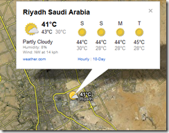 google-map-weather