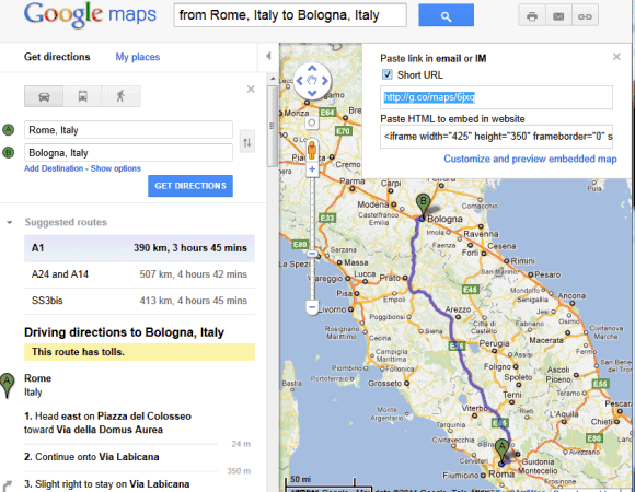 google-maps-short-url