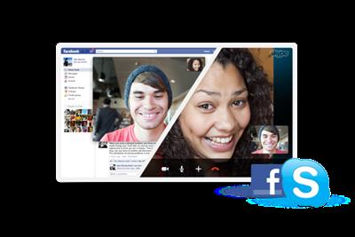 Facebook Blog Pic thumb الآن يمكن إجراء محادثة الفيديو بين مستخدمي الفيس بوك من خلال تطبيق السكايب