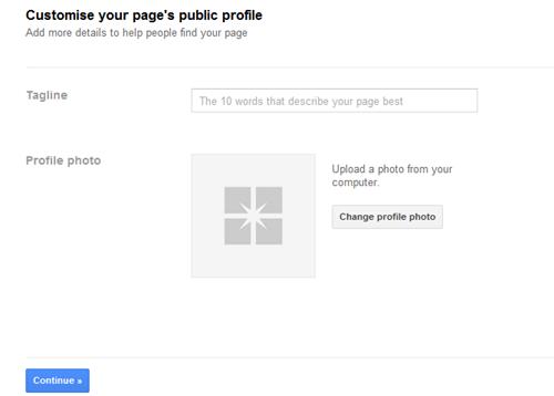google page 2 thumb تحديث: شرح إنشاء صفحة موقعك أو شركتك في قوقل بلس
