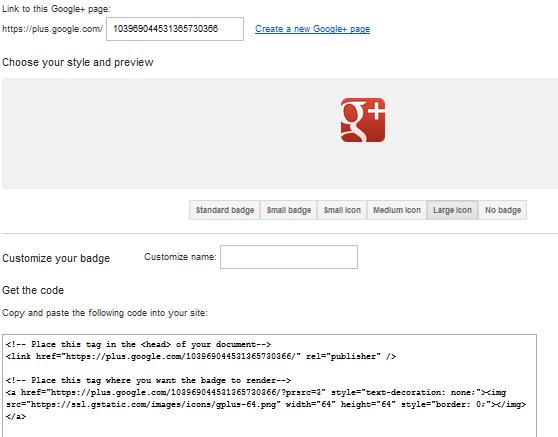 google page 4 thumb تحديث: شرح إنشاء صفحة موقعك أو شركتك في قوقل بلس