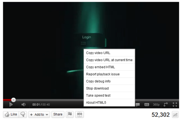 youtube-html5-menu