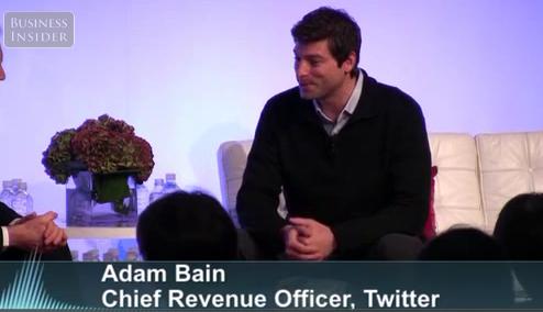 Screen Shot 2011 12 01 at 6.10.44 AM حديث مع آدم بين الرئيس التنفيذي للعوائد في تويتر