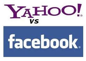 Yahoo vs Facebook دعوة قضائية من ياهو ضد الفيس بوك