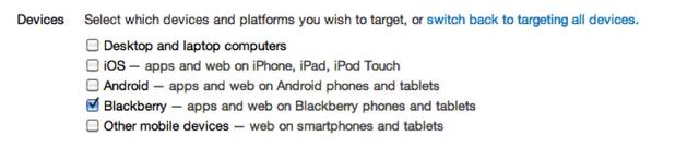 BlackBerryTargeting