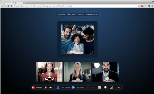 Скайп совещание как сделать