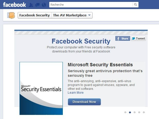 شراكة الفيسبوك وافضل شركات الحماية