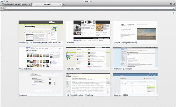 ff13newtab إطلاق النسخة التجريبية 13 من متصفح فايرفوكس