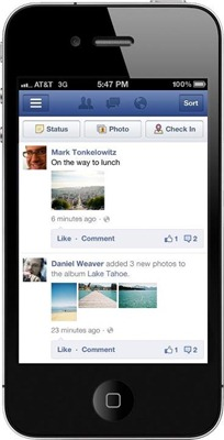 398980 10150978181589009 234232874008 12023060 541604256 n الفيس بوك يعدل في شكل اظهار الصور والتحديثات لنسخة الهواتف