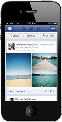 461291 10150978181339009 234232874008 12023058 737831797 o الفيس بوك يعدل في شكل اظهار الصور والتحديثات لنسخة الهواتف