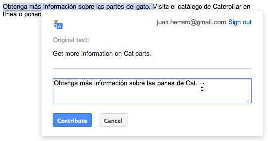 BlogPostExample ترجمة جوجل تسمح الأن لأصحاب المواقع بتحرير الترجمة