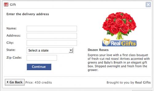 facebook gifts physical 500x295 كيف يحقق الفيس بوك أرباحه؟