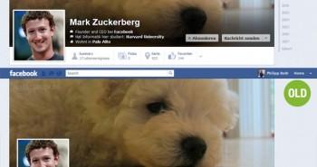 الفيس بوك يقوم بتجربة تصميم جديد لصورة الغلاف في التايم لاين
