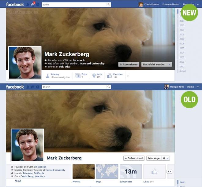 new الفيس بوك يقوم بتجربة تصميم جديد لصورة الغلاف في التايم لاين