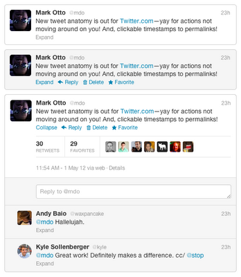tweet anatomy full تويتر يحسن في تصميم التغريدة بالموقع