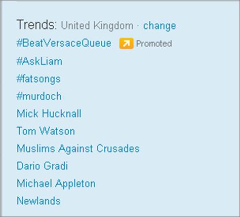 BeatVersaceQueue promoted trend كيف يحقق تويتر ارباحه؟