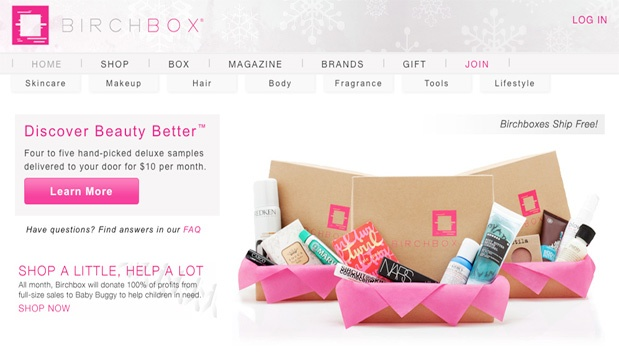 Birchbox 11 7 مشاريع ناشئة برزت هذا العام