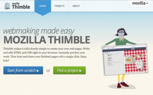 Mozilla-Thimble