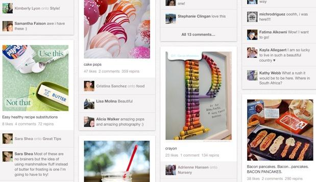Pinterest 7 مشاريع ناشئة برزت هذا العام