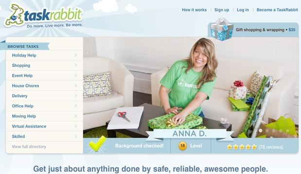 TaskRabbit 7 مشاريع ناشئة برزت هذا العام