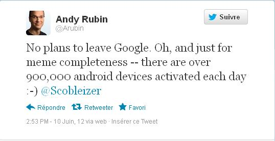 android 900 ألف جهاز أندرويد يتم تفعيله يوميا