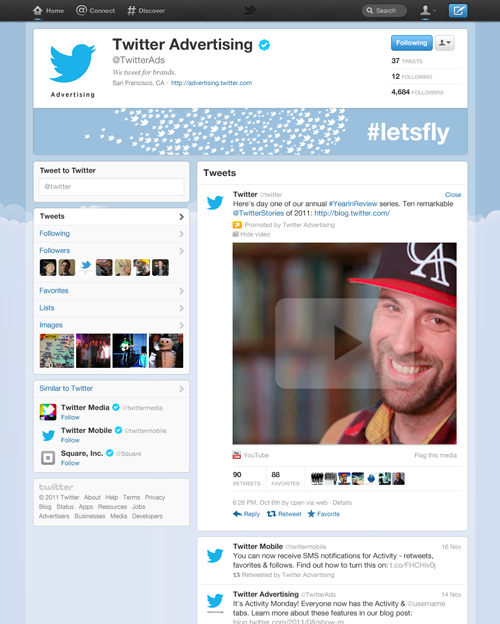 enhanced profile كيف يحقق تويتر ارباحه؟
