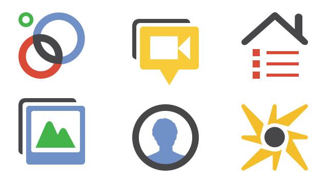 google plus icons1 غوغل تكشف عن تحديثات على شبكتها الاجتماعية