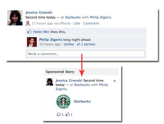 sponsored stories موقع الفيس بوك يدفع 10 مليون دولار لتسوية دعوى قضائية ضد الإعلانات