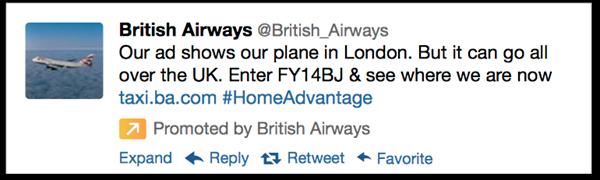 BA تويتر يوفر امكانية نشر التحديث الإعلاني لمنطقة معينة