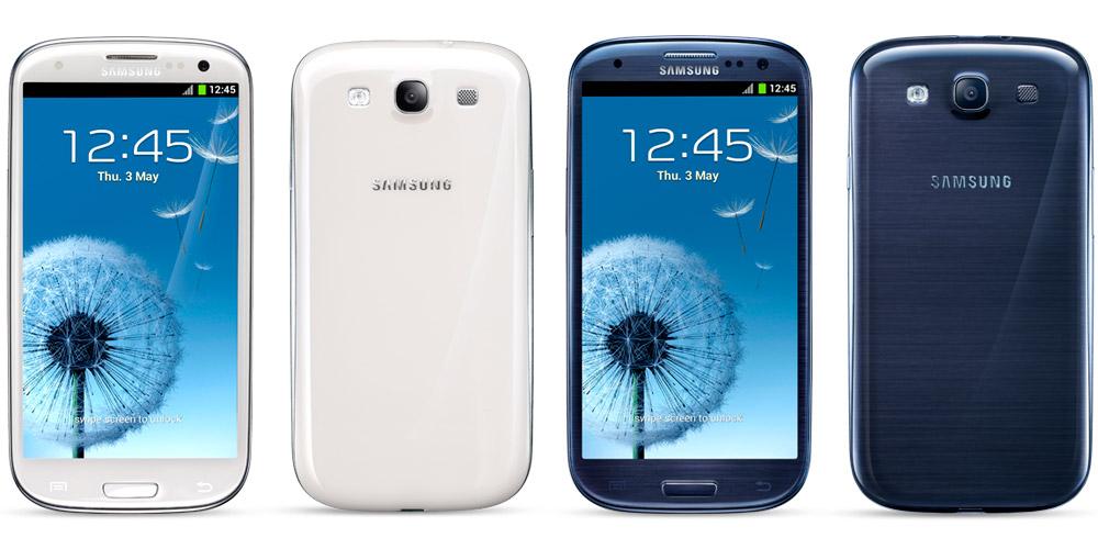 Samsung Galaxy S3 white blue مبيعات الجلاكسي إس ثري تتجاوز ال 10 ملايين جهاز في أقل من شهرين