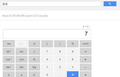 جوجل تضيف آلة حاسبة ب34 زر في نتائج بحثها عالم التقنية