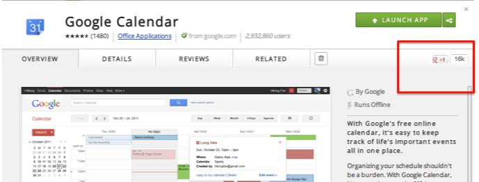 Screen shot 2012 07 03 at 9.58.50 AM1 متجر جوجل كروم الإلكتروني يحصل على زر +1 الخاص به