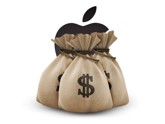 apple earnings money 640x480 توقعات بإنخفاض أرباح آبل عن الربع الماضي