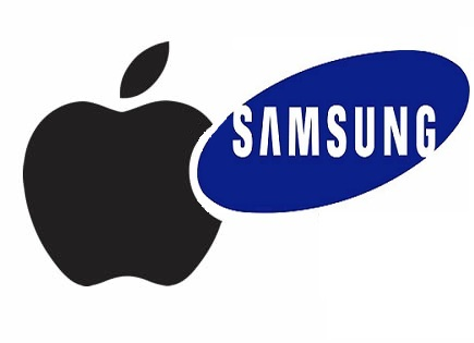 apple-vs-samsung-logos