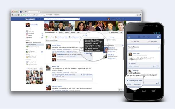facebook group 610x381 كيف تعرف من شاهد منشورك في مجموعات فيس بوك؟