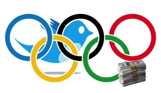 twitter olympics1 تويتر تعتمد على الألعاب الأولمبية لتعزيز مكانتها وأرباحها