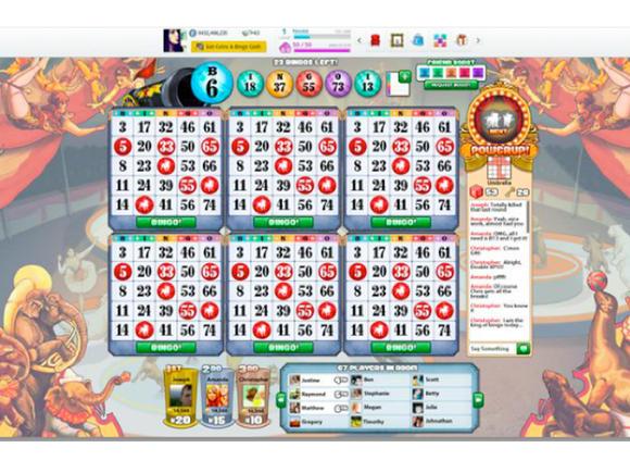 Zynga Bingo 580 75 أول تطبيق للمقامرة على الفيس بوك: تصور آخر لمستقبل التطبيقات على الشبكات الإجتماعية
