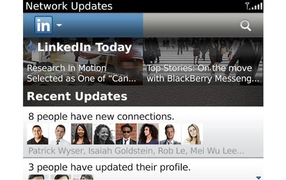 شبكة LinkedIn تطلق تحديث جديد