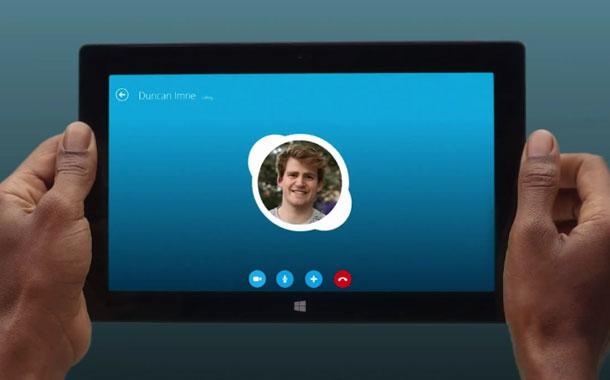 Skype App for Windows 8 مايكروسوفت تكشف عن سكايب لويندوز 8