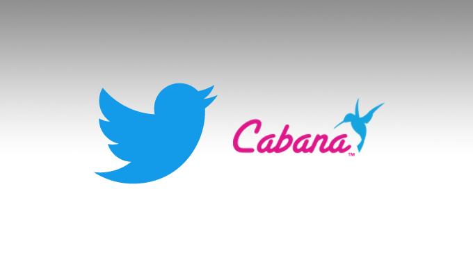 تويتر تستحوذ Cabana لإنشاء التطبيقات