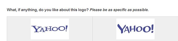 ياهوو! تختبر شعار وتصميم جديد